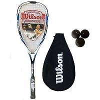 Wilson - Raqueta de Squash Azul Hyper Hammer