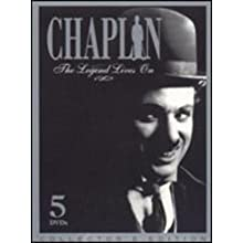 Charlie Chaplin: The Legend Lives On (Collector's Edition) 5 Dvd