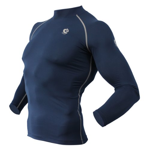 COOVY Sports Compression Under Base Layer Heat Cold Armour Long Sleeve Shirts