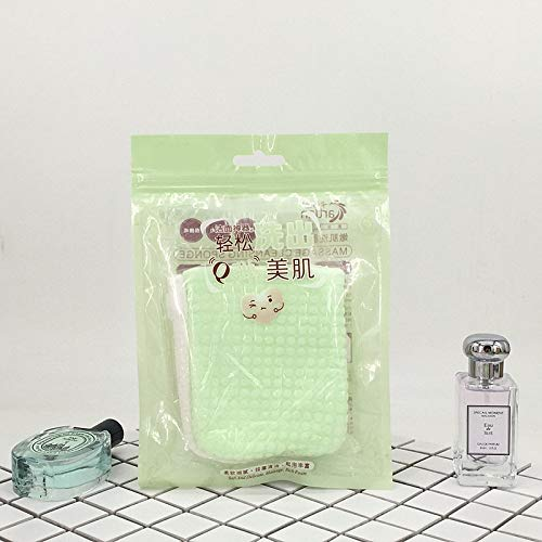 happy- little -bear Face Gloves Cleansing Gloves Skin Care Cotton Mittens Makeup Remover Glove For Facial Deep Cleansing