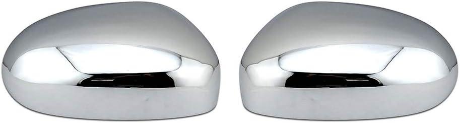 Copertura specchietto retrovisore auto Copre La Sostituzione Dello Specchio Copertura Cromata Specchietto Covers Caps Porta Laterale Specchio Fit For Jaguar X-Type XK XKR XJ X350 Tipo S 2003-2008 Tapp
