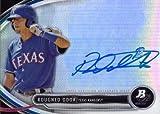 2013 Bowman Platinum #BPAP-RD Rougned Odor Certified Autograph Baseball Card