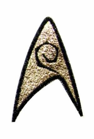 Star Trek TOS Engineering and Ships Services Division Patch third (Uhura Tos Costume)