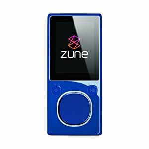 Zune 8 GB Video MP3 Player (Blue)