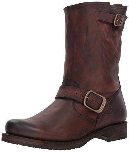 FRYE Women's Veronica Short Ankle Boot, Redwood, 7 M US ()