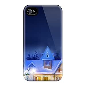 New Christmas Town Cases Covers, Anti-scratch ADn17598QQvb Phone Cases For Iphone 6
