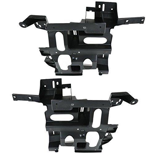 Right Headlight Bracket - Headlamp Headlight Bracket LH Left & Right Pair Set for Silverado Pickup Truck