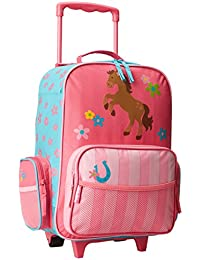 Classic Rolling Luggage, Girl Horse, One Size