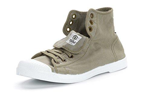 Eco Chaussures 534 En Tendance Haut Femmes Variés World Hi Toile All Natural Star Tissu Tennis Mono Coloris Nouveauté Vegan Baskets Pour 41FSR5qw