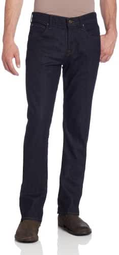 7 For All Mankind Men's Carsen Straight-Leg Jean in Dark and Clean
