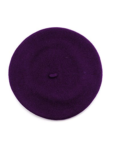 NYFASHION101® French Style Lightweight Casual Classic Solid Color Wool Beret,