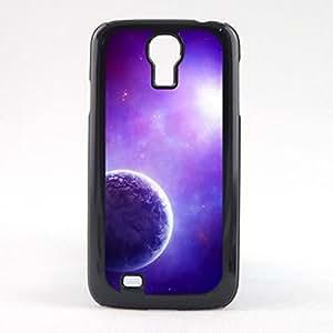Case Fun Case Fun Purple Planet Snap-on Hard Back Case Cover for Samsun Galaxy S4 Mini (I9190)