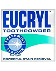 Eucryl 50g Smokers Freshmint Toothpowder - 3 Pack