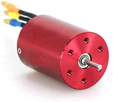 Part & Accessories 1PCS Metal 3650 Brushless Motor 03002 3651mm Sensorless Motors with KV3300 KV4000 for 1:10 RC 94123 Truck/Climbing Upgrade Part - (Color: 3650 motor) 410g6OXMp3L