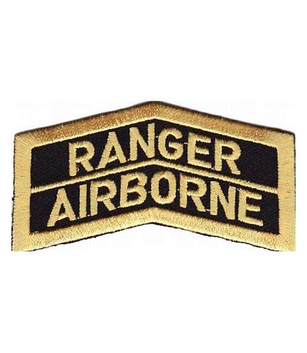 - Army Ranger Airborne Patch, Military Insignia Patches