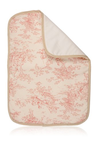 Pink Toile Changing Pad - Diaper Changing Pad (Pink Toile)