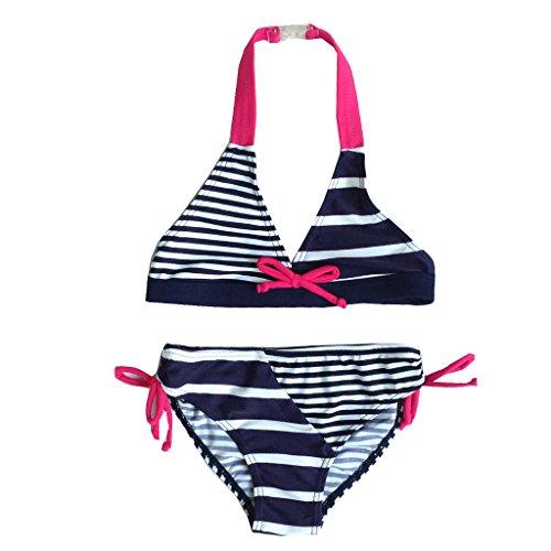 BHL Girls Bikini 3-12 Years Striped (3-4 Years)