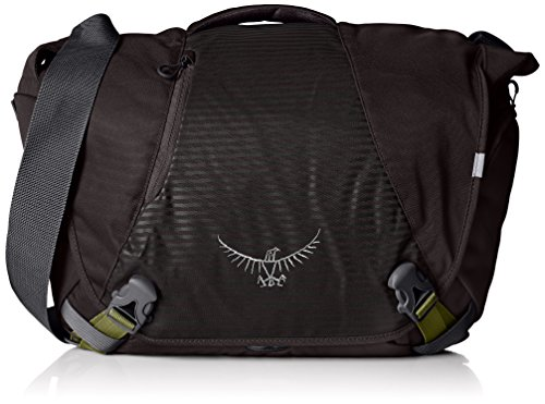 Osprey FlapJack Mens Courier Shoulder Bag (Black)