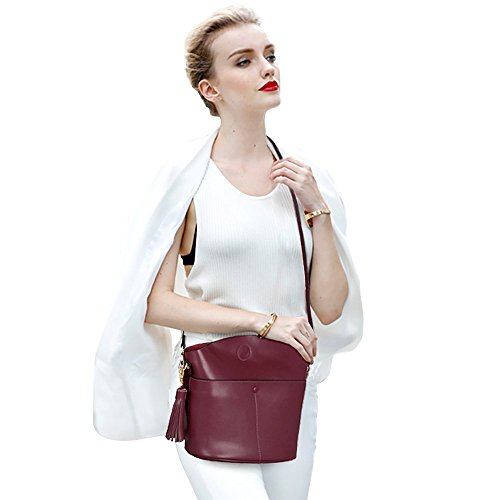 S-Zone 2Way Leather Shoulder Bag Diagonally Over Bag Tote Bag Handbag Lad Jp F/S