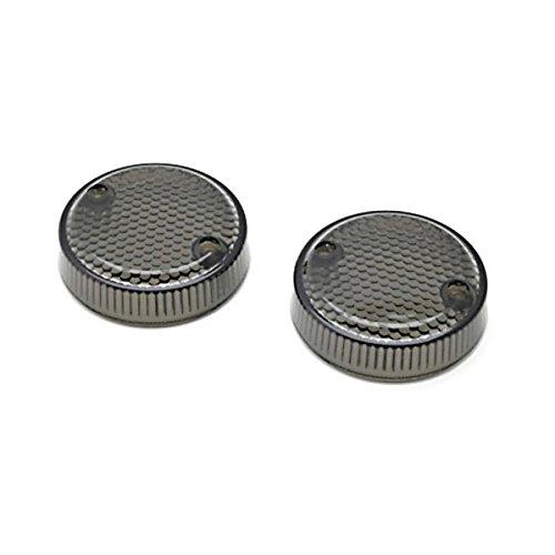 Krator Smoke Turn Signal Lens Lenses Indicator Blinkers For Honda Valkyrie (1997-2000)