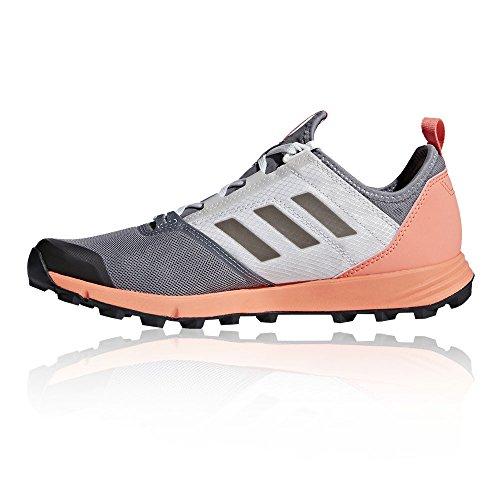 adidas Terrex Agravic Speed W, Zapatillas de Trail Running Para Mujer Gris (Gritre/Negbas/Cortiz 000)