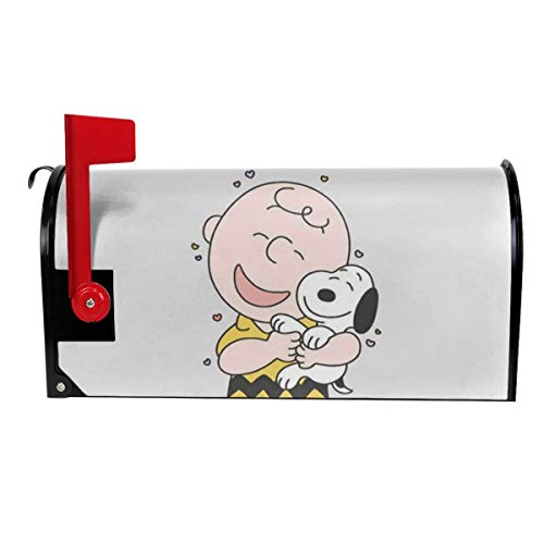 Duwamesva Funny Mailbox Cover Charlie Brown & Snoopy