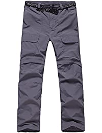 Men's Hiking Lightweight Quick Dry Convertible Mountain Cargo Pants