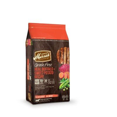 Grain Free Real Buffalo and Sweet Potato Dry Dog Food Size: 12-lb bag