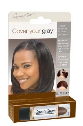 [Daggett & Ramsdell Cover Your Gray Touch-Up Stick, Medium Brown, 0.15 Ounce] (Gray Stick)