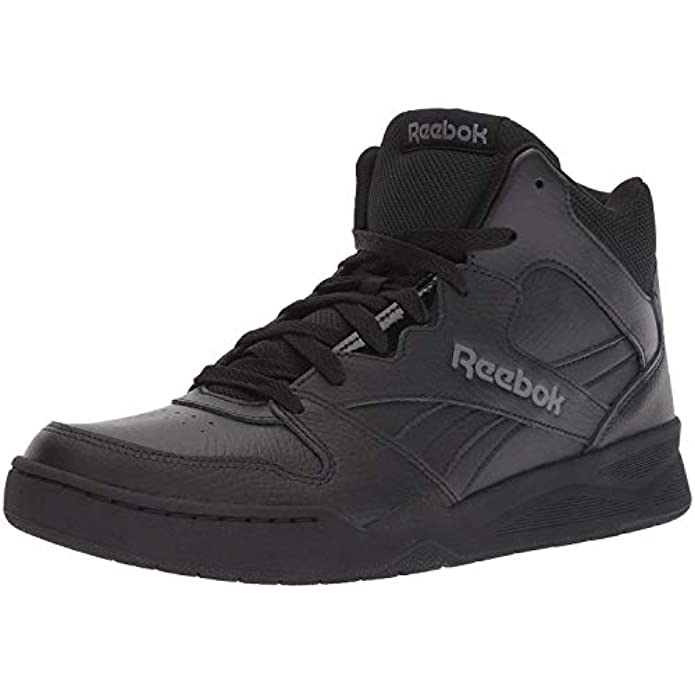 Reebok Men's BB4500 Hi 2 Sneaker, Black/Alloy, 11