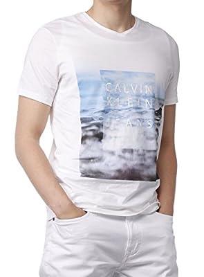 Calvin Klein Jeans Cotton Men's Short-Sleeve Graphic T-Shirt