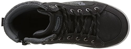 Dockers by Gerli Unisex-Kinder 37nc701-652100 High-Top Schwarz (Schwarz 100)
