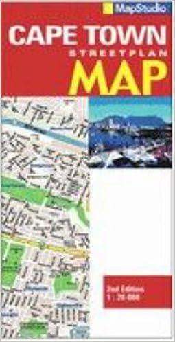 Cape Town Street Map Amazoncouk Map Studio 9781868098859 Books