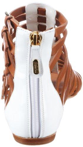 Sebastian WOMAN'S SHOE S5215 VEBI+VACU - Sandalias clásicas de tela para mujer Blanco