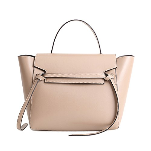 (Actlure Women¡¯s Work Space Belt Leather Tote, Cross body bag)