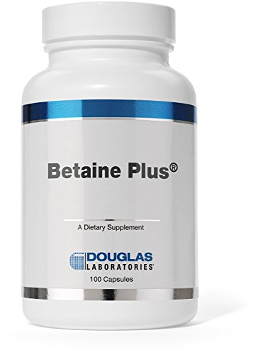 Douglas Laboratories - Betaine Plus - Betaine Hydrochloride with Pepsin to Support Digestion* - 100 Capsules