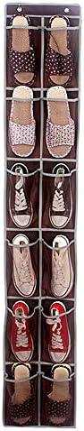 MOPKJH aufbewahrung kinderzimmer Bad Organizer Schrankaufbewahrung Schuhablage hängen Aufbewahrung der Handtasche Schuhablage über der Tür Wandspeicher Coffee