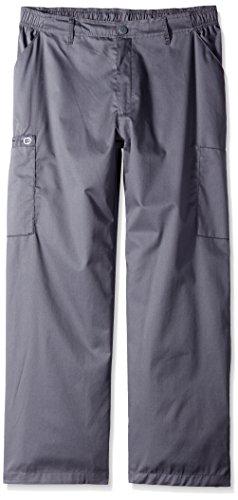 Wonderwink Men's Petite Wonderwork Cargo Pant Short, Pewt...
