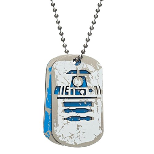 Star Wars R2D2 Character Logo Pendant Necklace Dog