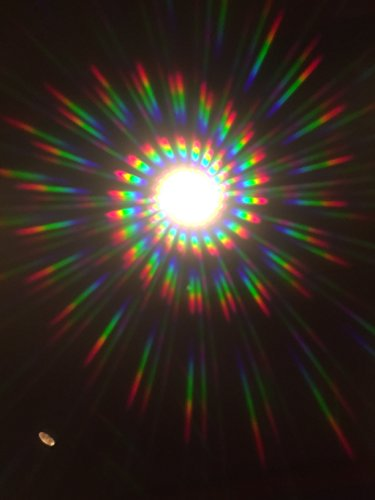 Spiral Rainbow Diffraction PARTY Glasses by Education Harbour x 2prs
