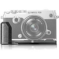 MEKE Meike MK-ECG4 Metal Black Camera Hand Grip for Olympus PEN-F Mirroless Camera(ECG-4)