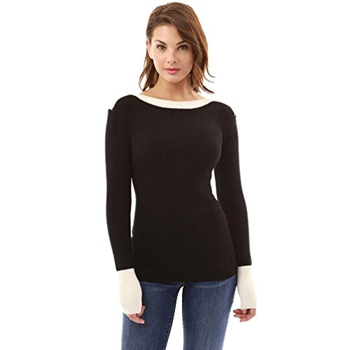 pull femme pas blouse FRYS vetement femme femme chic grande femme sweat femme taille Slim casual chaud fashion manteau femme cher hiver chemisier sweat Printemps Fille shirt Noir mode rSxPw7trq