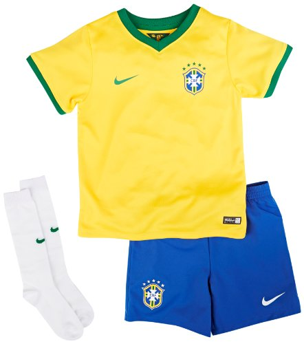 2014-15 Brazil Home World Cup Mini Kit