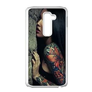 Sexy Sleeve Tattoo Girl LG G2 Cell Phone Case White DIY TOY xxy002_896409