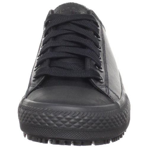 Skechers for Work Women's Gibson-Hardwood Slip-Resistant Sneaker, Black, 8 M US by Skechers (Image #4)