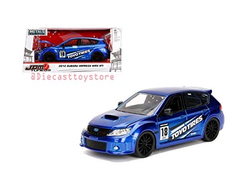12 Blue Diecast Car - 5