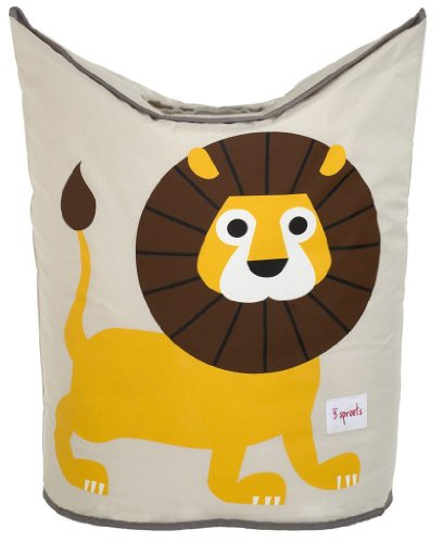Kid Laundry (3 Sprouts Laundry Hamper, Lion)