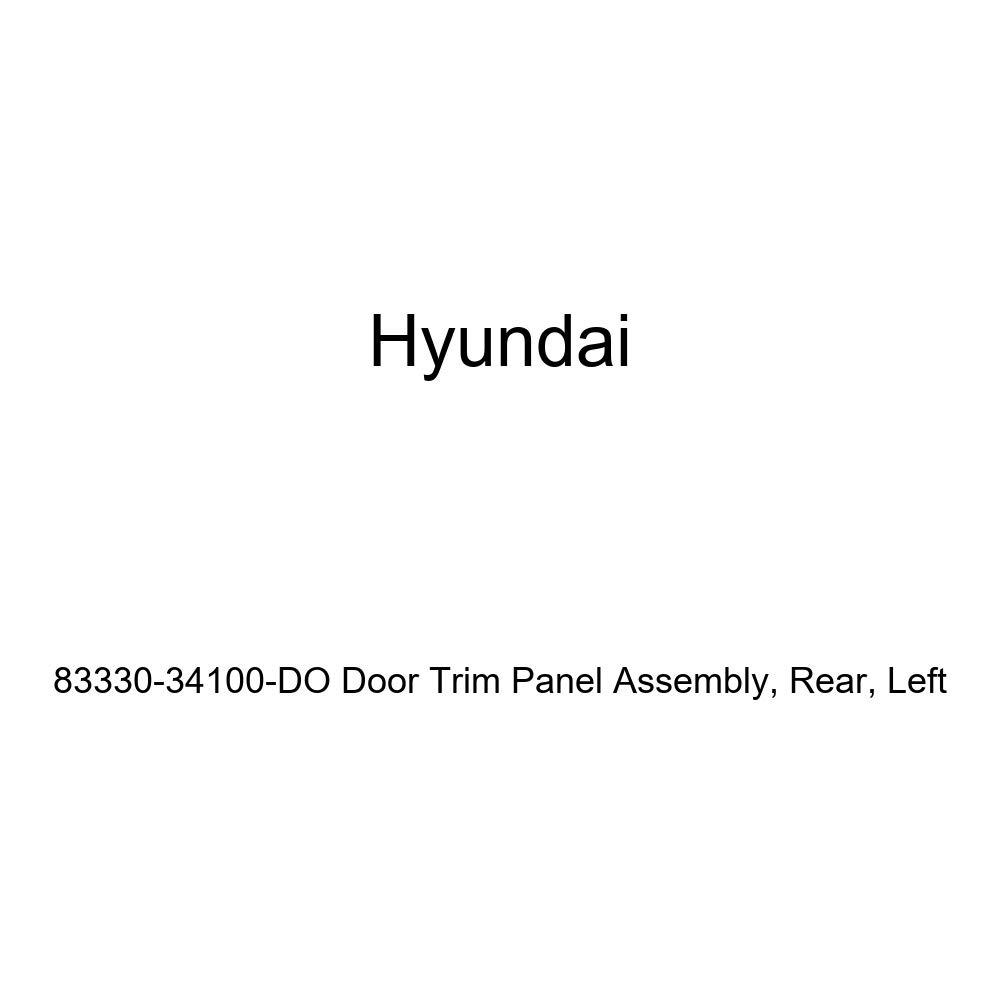Rear Left Genuine Hyundai 83330-34100-DO Door Trim Panel Assembly