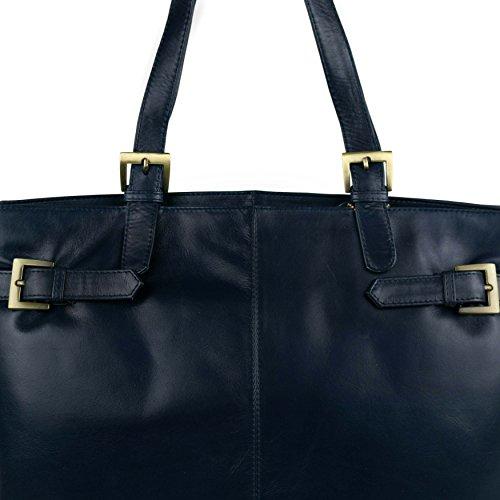 Grand Femme Main Pour À Noir Sac Gigi Bleu Marine q6pgnAOw