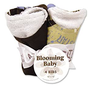 Amazon Com Rockstar Blooming Bouquet Bib Set Baby Gift